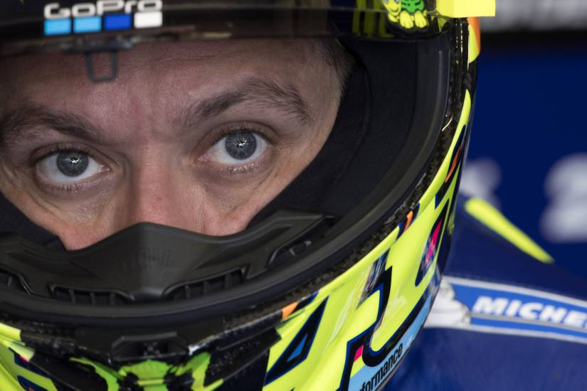 """MotoGp, Rossi: """"Sono il collaudatore di Vinales"""""""
